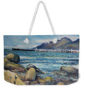 Lighthouse At Kalk Bay Cape Town South Africa 2016 Weekender Tote Bag