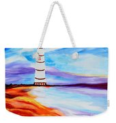 Lighthouse By The Sea Weekender Tote Bag