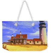 Lighthouse Cape Cod Weekender Tote Bag