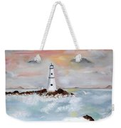 Lighthouse Cove Weekender Tote Bag