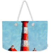 Lighthouse - Id 16217-152045-8706 Weekender Tote Bag