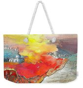 Lighthouse In Albir On The Costa Blanca Weekender Tote Bag