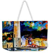 Lighthouse In Crete Weekender Tote Bag