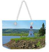 Lighthouse Landscape Weekender Tote Bag