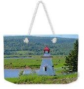 Lighthouse Landscape Three Weekender Tote Bag