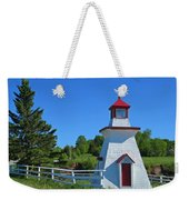 Lighthouse Landscape Two Weekender Tote Bag