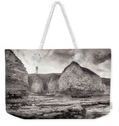Lighthouse On The Cliff Weekender Tote Bag