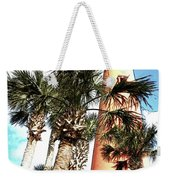 Lighthouse Palms Weekender Tote Bag
