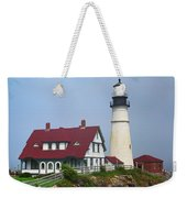 Lighthouse - Portland Head Maine Weekender Tote Bag