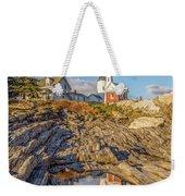 Lighthouse Reflection Weekender Tote Bag