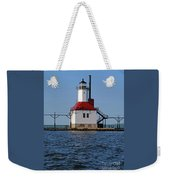 Lighthouse Restored Weekender Tote Bag