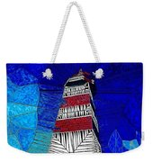 Lighthouse Stained Glass  Weekender Tote Bag