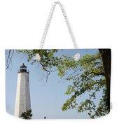 Lighthouse Summer Weekender Tote Bag