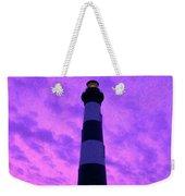 Lighthouse Sunset - Digital Art Weekender Tote Bag