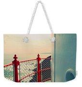Lighthouse View Weekender Tote Bag