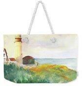 Lighthouse-watercolor Weekender Tote Bag
