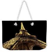 Lighting The World Of Paris Weekender Tote Bag