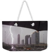 Lighting Up Atlantic Station Weekender Tote Bag