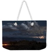 Lightning And Light Trails Weekender Tote Bag