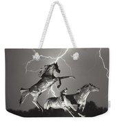 Lightning At Horse World Weekender Tote Bag
