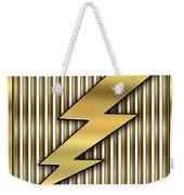 Lightning Bolt Weekender Tote Bag