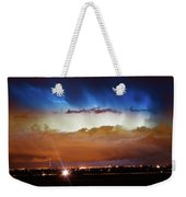 Lightning Cloud Burst Boulder County Colorado Im34 Weekender Tote Bag