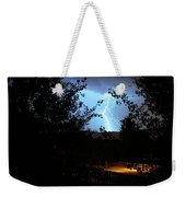 Lightning On The Distant Mountains Weekender Tote Bag