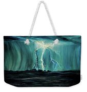 Lightning On The Prairie Weekender Tote Bag