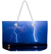 Lightning Storm 08.05.09 Weekender Tote Bag by James BO  Insogna