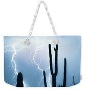 Lightning Storm Chaser Payoff Weekender Tote Bag