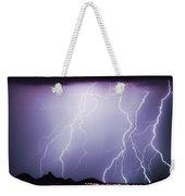 Lightning Storm North Scottsdale Az 85255 Weekender Tote Bag by James BO  Insogna