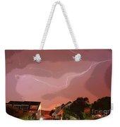 Lightning Strike Weekender Tote Bag