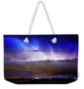 Lightning Thunder Head Cloud Burst Boulder County Colorado Im39 Weekender Tote Bag by James BO  Insogna