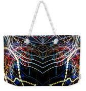 Lightpainting Panorama Print Photograph 3 Weekender Tote Bag