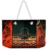 Lightpainting Quads Art Print Photograph 1 Weekender Tote Bag