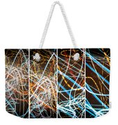 Lightpainting Quads Art Print Photograph 3 Weekender Tote Bag