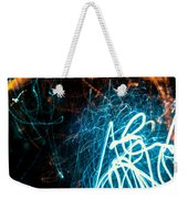 Blue Fuzz Of Depth Weekender Tote Bag