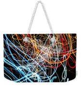 Lightpainting Single Wall Art Print Photograph 9 Weekender Tote Bag