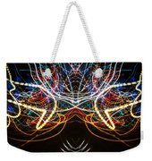 Lightpainting Symmetry Wall Art Print Photograph 1 Weekender Tote Bag