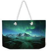 Lights Above Lofoten Weekender Tote Bag