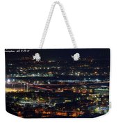 Lights Across Birmingham Weekender Tote Bag