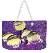 Lights Along The Way 4 Weekender Tote Bag