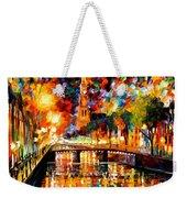 Lights And Shadows Of Amsterdam Weekender Tote Bag