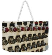 Lights And Switches Weekender Tote Bag