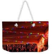 Lights At Christmas Weekender Tote Bag