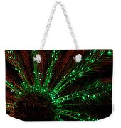 Lights Beneath The Fronds Weekender Tote Bag