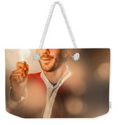 Lights Of Christmas Ideas Weekender Tote Bag