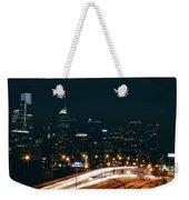Lights Of Philadelphia Weekender Tote Bag