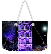 Lights Of The World Leaning Tower Of Pisa Weekender Tote Bag
