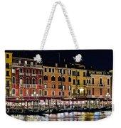 Lights Of Venice Weekender Tote Bag